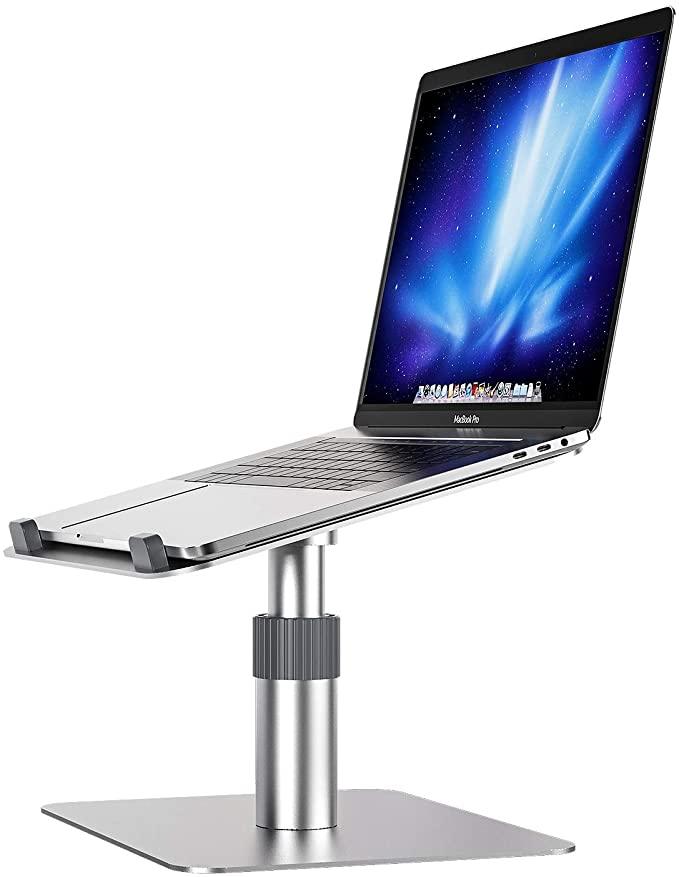 Newaner Laptopständer Aluminum Halterung höhenverstellbar 360°drehbarer Ventilated 10-16Zoll